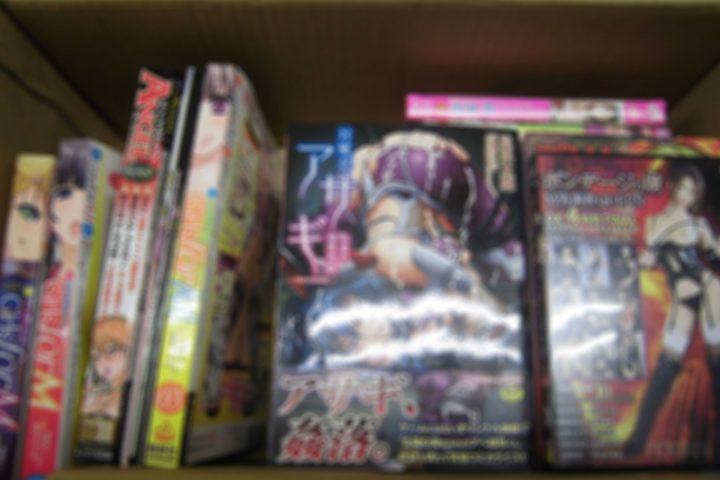 「京都」のお客様より、アダルトDVD・成人コミック16点買取させて頂きました