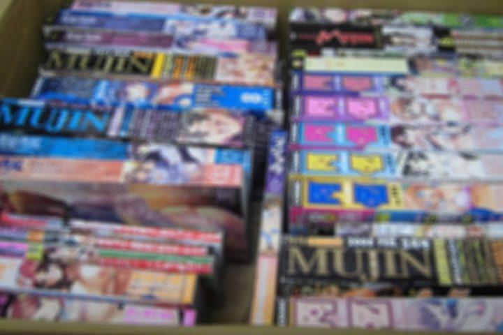 「東京」のお客様より、成人コミック雑誌24点買取させて頂きました