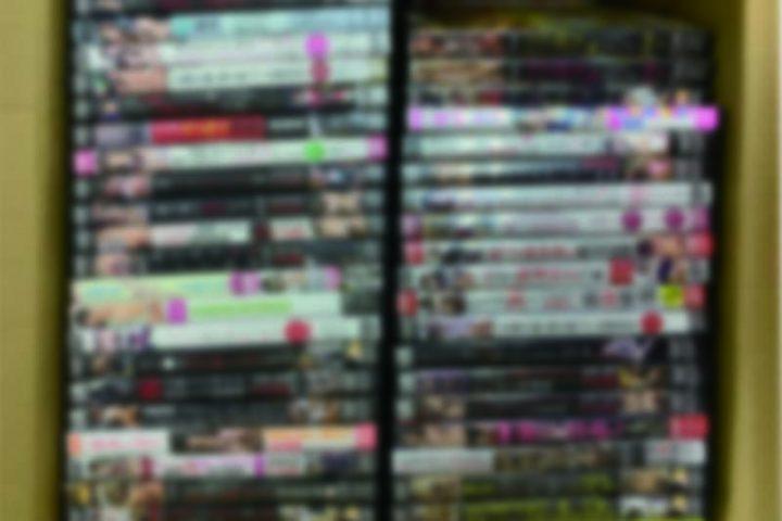 「和歌山」のお客様より、アダルトDVD292点買取させて頂きました